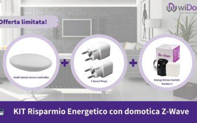 Kit Risparmio Energetico con domotica Z-Wave