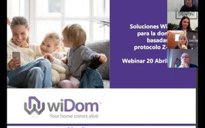 Webinar  módulos WiDom